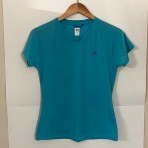 THE NORTH FACE small blue t shirt short sleeve